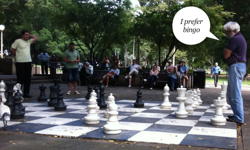Bare-Chested Bogans and Chess
