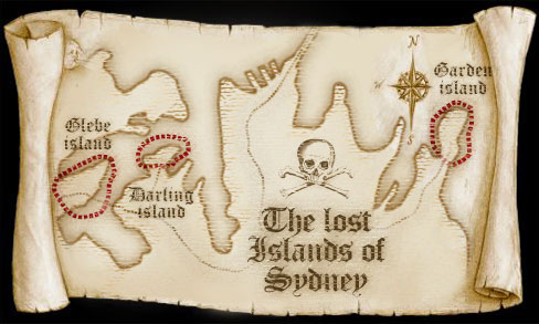 Sydney's Missing Islands